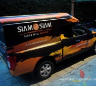 Vehicle Marketing Wrap SIAM @ SIAM