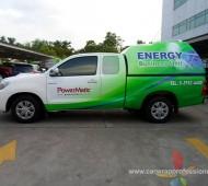 Vehicle Marketing Wrap Powermetic
