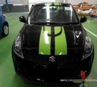 SUZUKI SWIFT STRIPES DEVIL Green