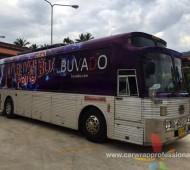 งานผลิต และติดตั้ง รถบัส Bus BUVADO Party