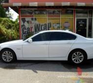 BMW 5 Series (E60) Full Wrap White