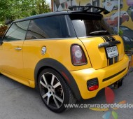 Mini Cooper Cooper Full Wrap Gold Yello