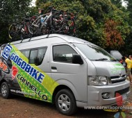 Vehicle Marketing Wrap รถเซอร์สวิส ทีมจักรยาน NKB