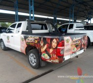Vehicle Marketing Wrap รถขนส่งสินค้า #พันท้ายนรสิงห์