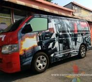 HILTI รถตู้ Hiace Vehicle Marketing Wrap