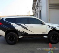 New Pajero Sport Off Road Style