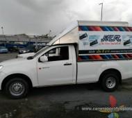 vehicle wrap Pickup NCR