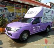 Vehicle Marketing Wrap ZEN Innovation