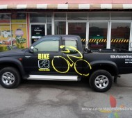 vehicle wrap งานโฆษณาติดรถ Bike Protection