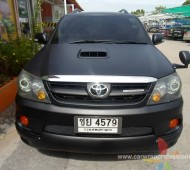 FORTUNER BLACK MATTE FULL WRAP