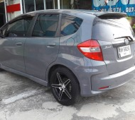 Honda Jazz Full Wrap Dark Gray Gloss