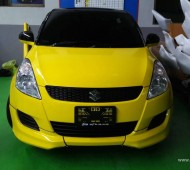 Swift Half Wrap Yellow Gloss