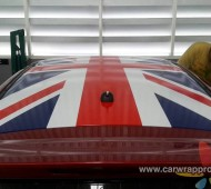 Suzuki Swift Roof Union Jack