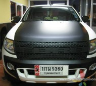FORD RANGER WRAP BLACK MATTE