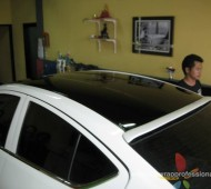NISSAN ALMERA with GlOSSY ROOF