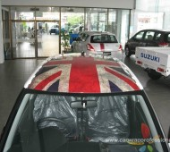 SUZUKI SWIFT ### I love Union jack