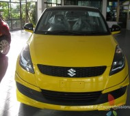 SUZUKI SWIFT HALF WRAP YELLOW GLOSS