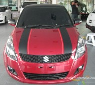 Suzuki Swift RX Half Wrap Black Matt