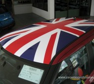 Suzuki Swift Wrap Union jack