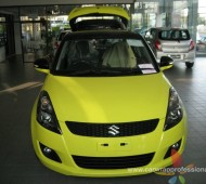 swift half wrap yellow glossy