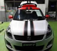 Swift Half Wrap +Red Black