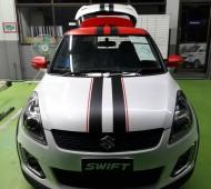 Swift Half Wrap +Red Black